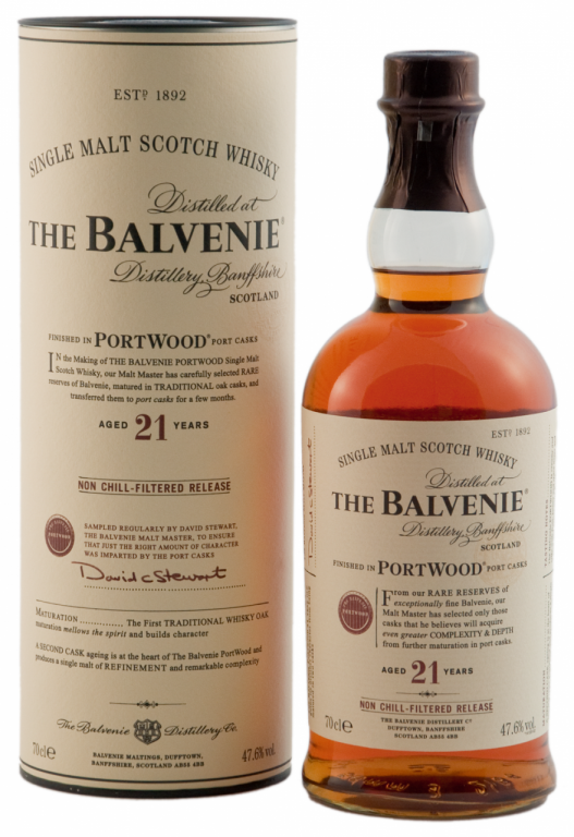 Comparing the Two Versions of the 21 Year Old Balvenie PortWood