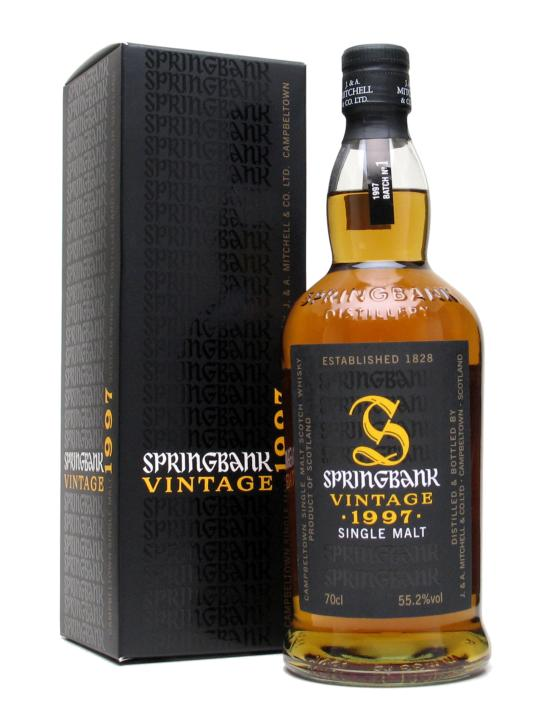 Springbank Week – Part VI: Springbank Vintage 1997 (Batch 1)