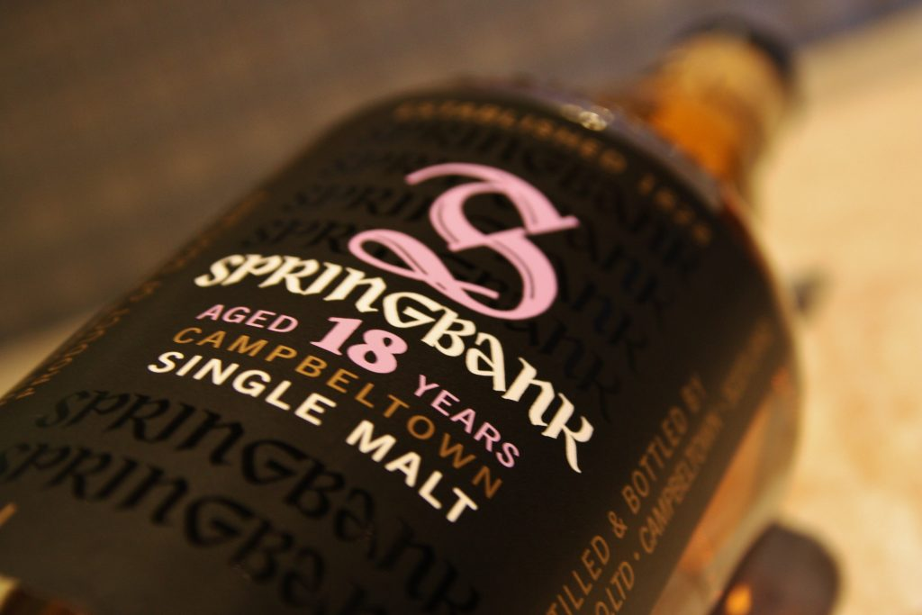 Springbank Week – Part IV: Springbank 18 Whisky Tasting Notes