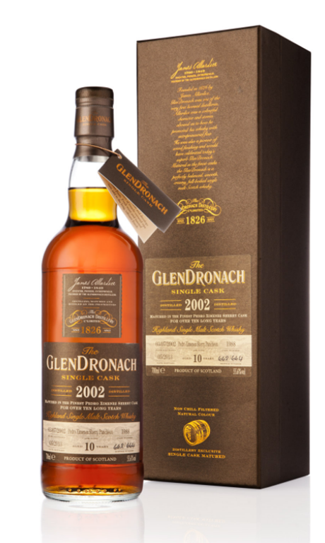 Glendronach Single Cask 2002 Fresh PX Puncheon: Young, Sweet and Spirity