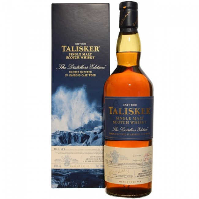 Distiller's Edition Talisker – When a Finish Works….