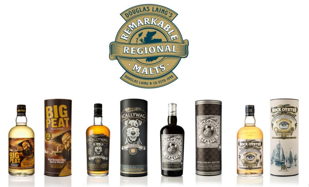 Pulling the Vats Together: The Remarkable Regional Malts By Douglas Laing and a Taste of the Beastie
