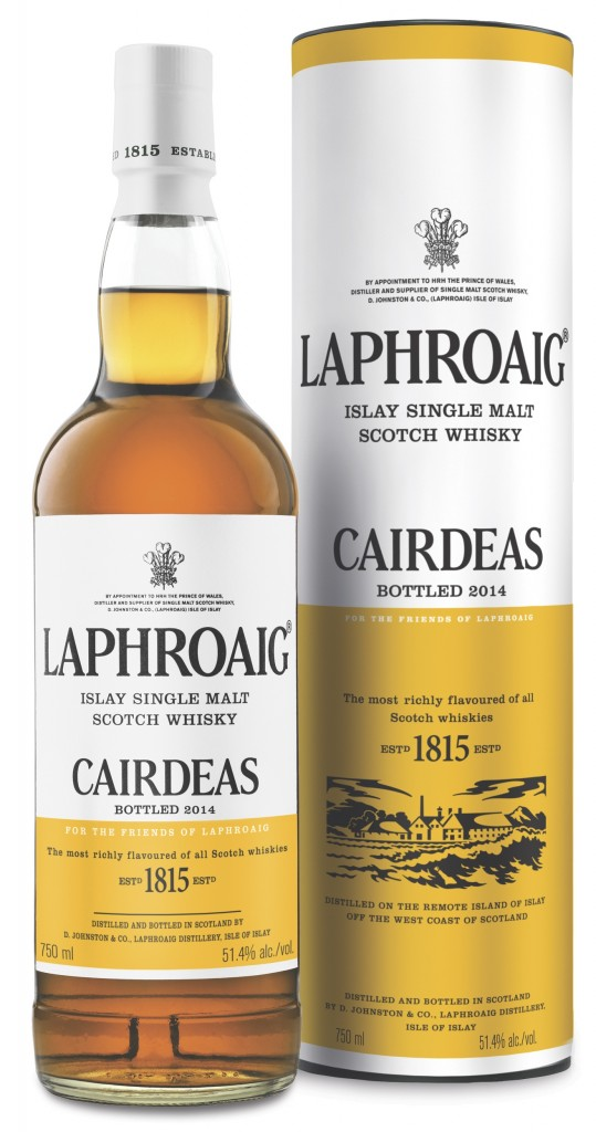 Fèis Ìle Laphroaig Open day – Tasting the Càirdeas 2014