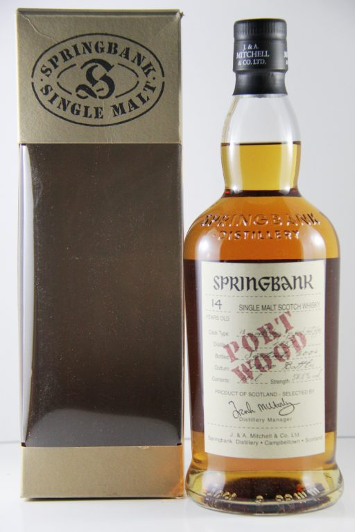 Springbank and Port…You Can't Really Go Wrong!