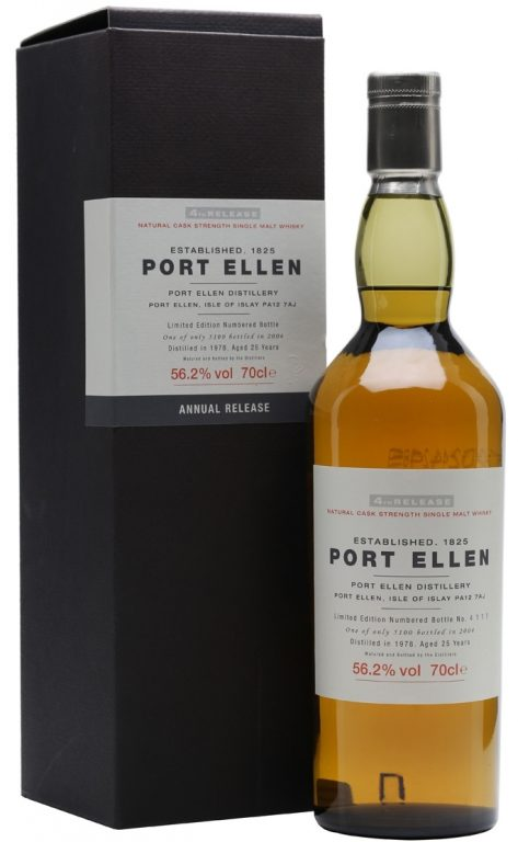 Port Ellen Series – Post V: Diageo's 4th Annual Release