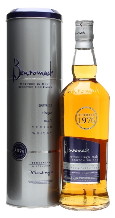 Benromach 1976 – Old Yet Modern…