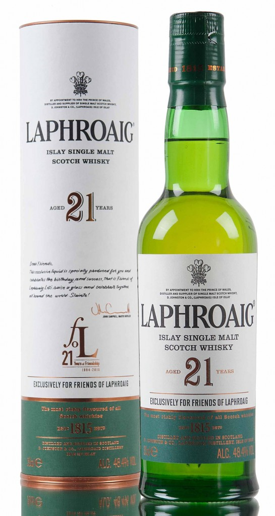 Laphroaig 21 Review – Small Bottle Packing a Big Punch