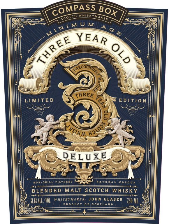 Compass Box Three Year Old Deluxe (49.2%)