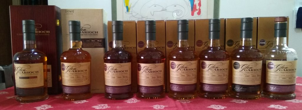 Glen Garioch Vintage Series Review: Part I – Vintage 1999 (Sherry), Vintage 1998 (Wine) and Vintage 1997 (Bourbon)