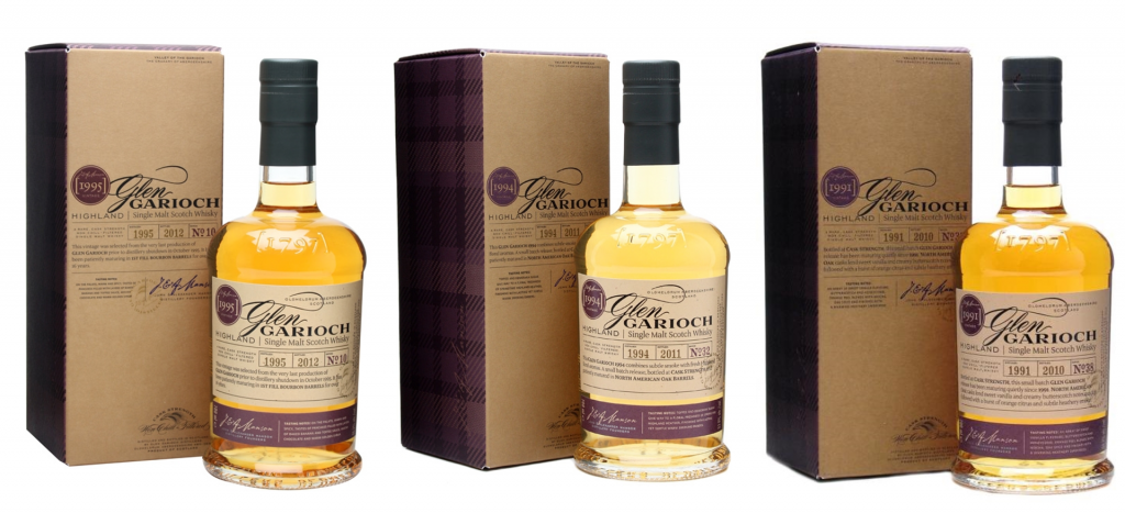 Glen Garioch Vintage Series Review: Part II – Vintage 1995 , Vintage 1994 and Vintage 1991
