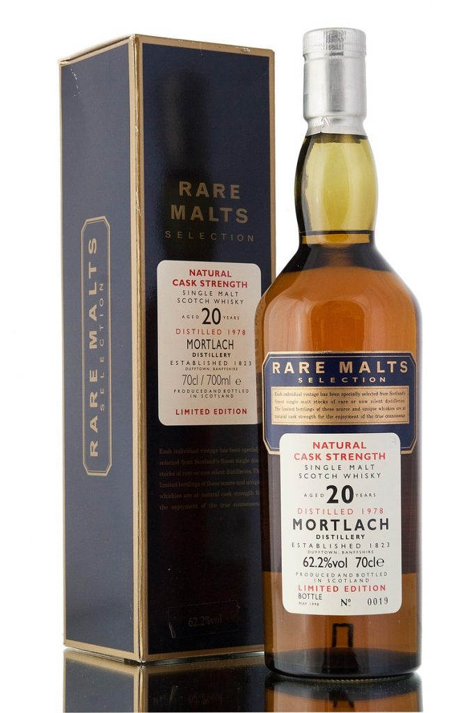 Mortlach 1978, 20 Year Old Rare Malt Selection (62.2%)