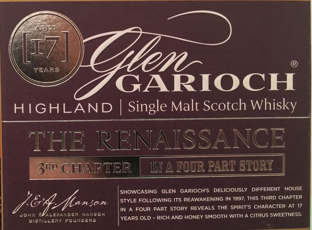 Glen Garioch Renaissance Chapter 3 (50.8%)