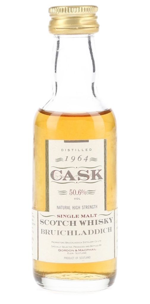 Gordon and MacPhail Bruichladdich 1964, 29 Years Old, Casks 3670, 3671, 3672 (50.6% ABV)