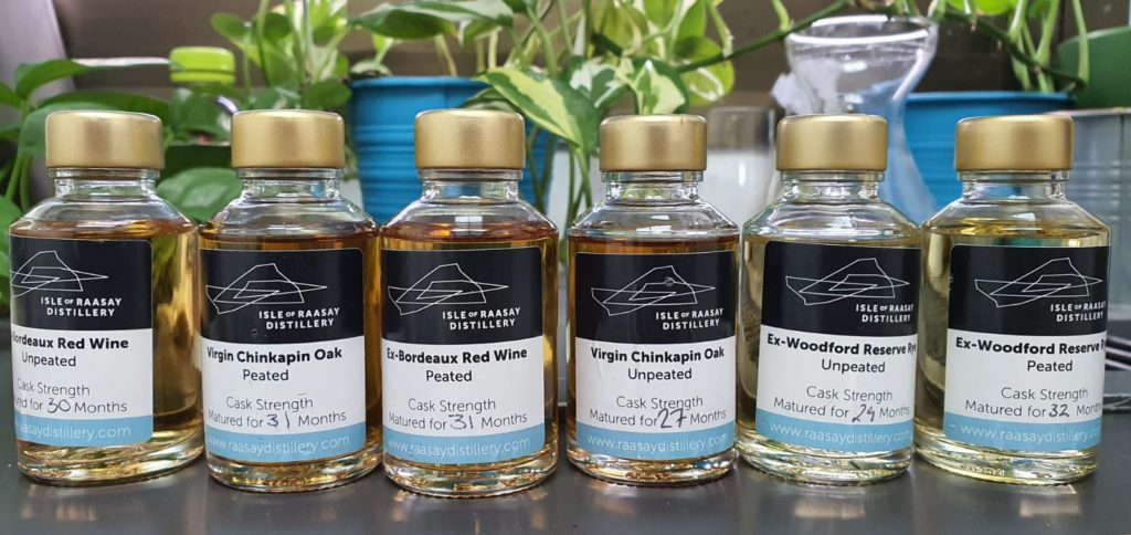 Isle of Raasay Virgin Chinkapin Oak Cask Selection – A First Look at the Distillery